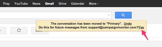 Whitelist gmail part 2
