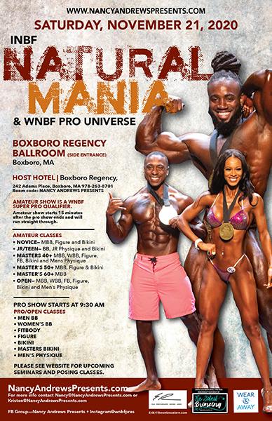 2020 Natural Mania + Pro Universe