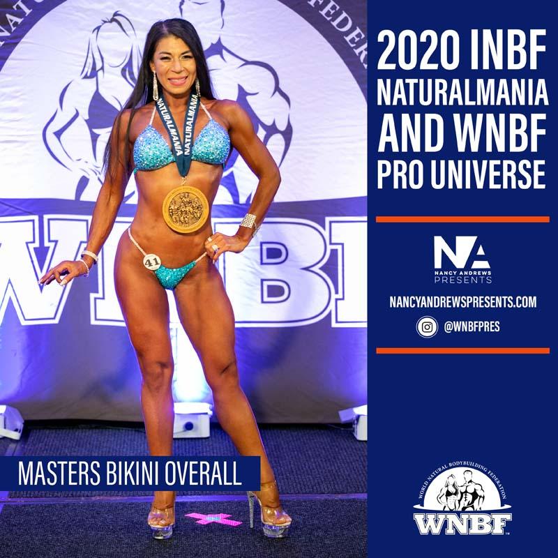 2020 INBF Naturalmania Masters Bikini Overall