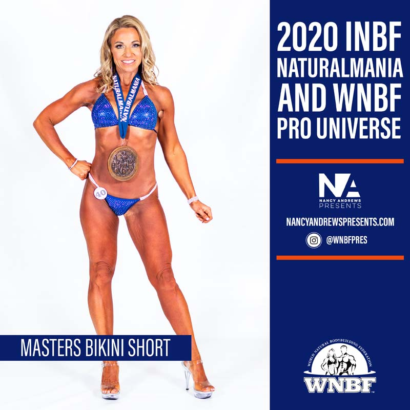 2020 INBF Naturalmania Masters Bikini Short