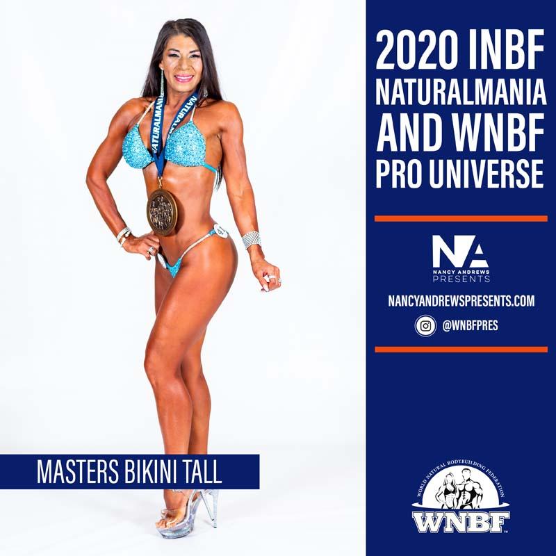 2020 INBF Naturalmania Masters Bikini Tall