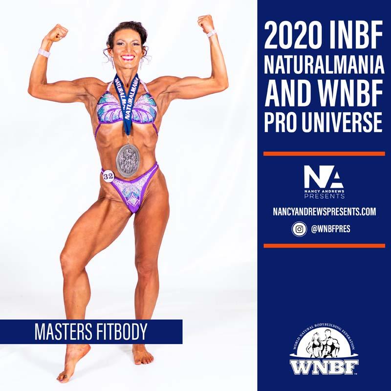 2020 INBF Naturalmania Masters Fitbody