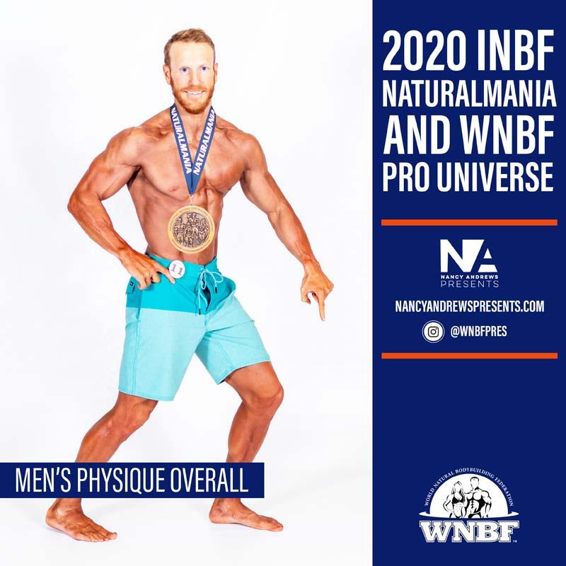 2020 INBF Naturalmania Mens Physique Overall