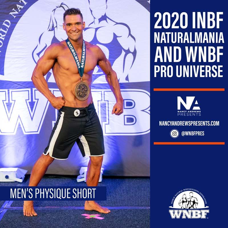 2020 INBF Naturalmania Mens Physique Short