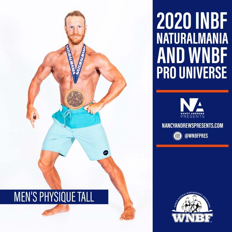 2020 INBF Naturalmania Mens Physique Tall