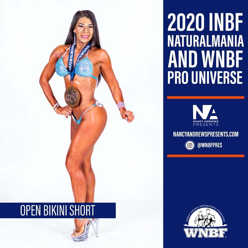 2020 INBF Naturalmania Open Bikini Short