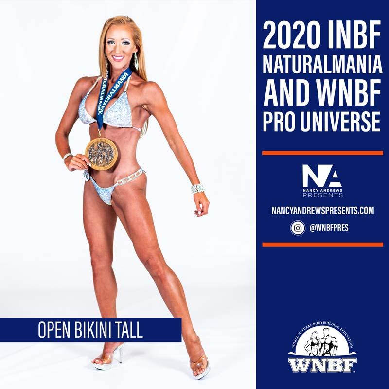 2020 INBF Naturalmania Open Bikini Tall