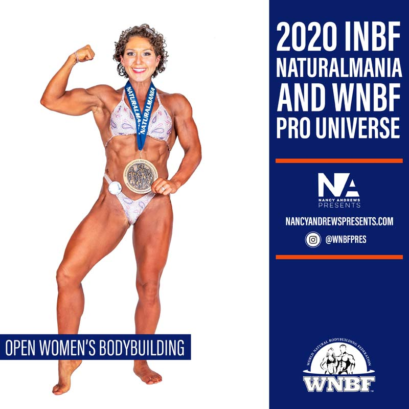 2020 INBF Naturalmania Open Women BB