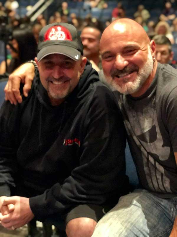 Bill Murphy and Jimmy Ciampi