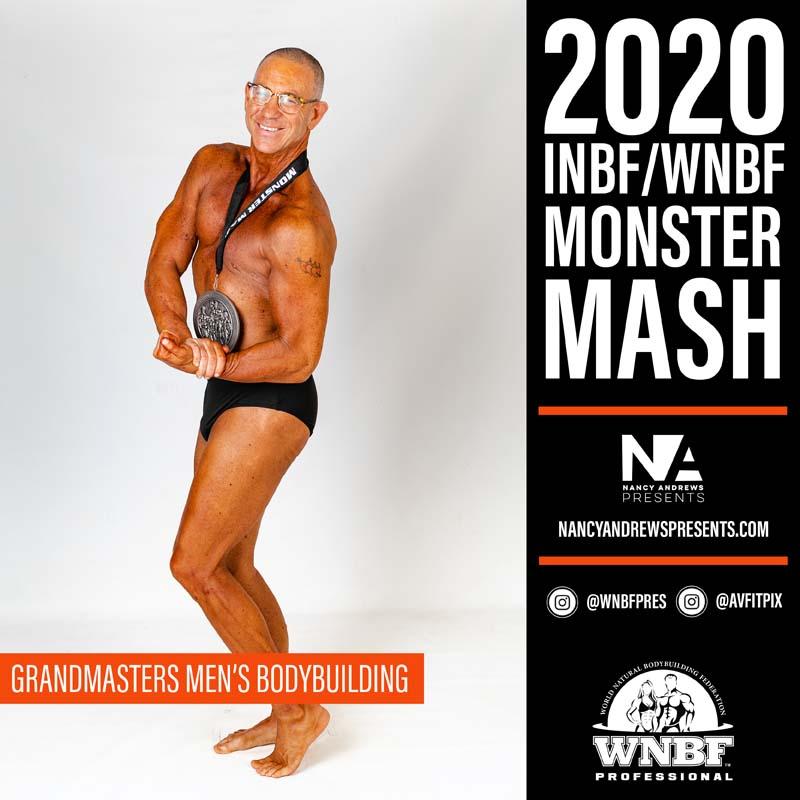 INBF Monster Mash 2020 - Grand Masters Mens Bodybuilding