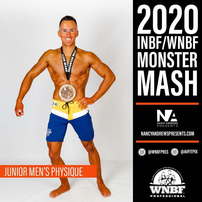 INBF Monster Mash 2020 - Jr Mens Physique