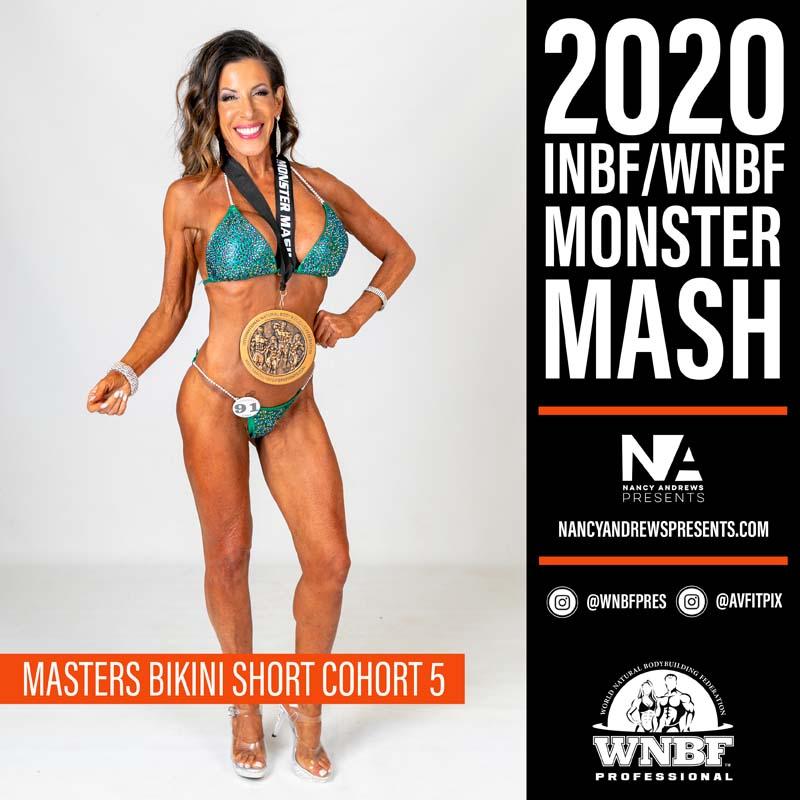 INBF Monster Mash 2020 - Masters Bikini Short