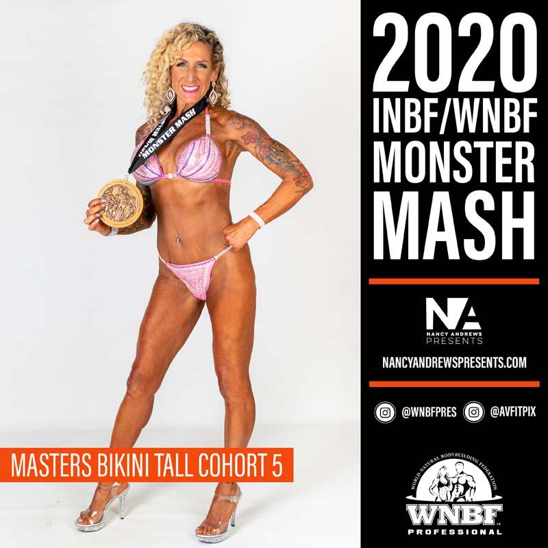 INBF Monster Mash 2020 - Masters Bikini Tall