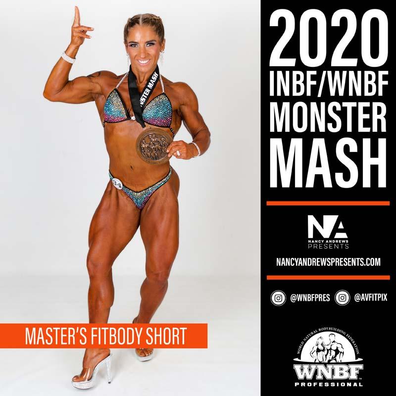 INBF Monster Mash 2020 - Masters Fitbody Short