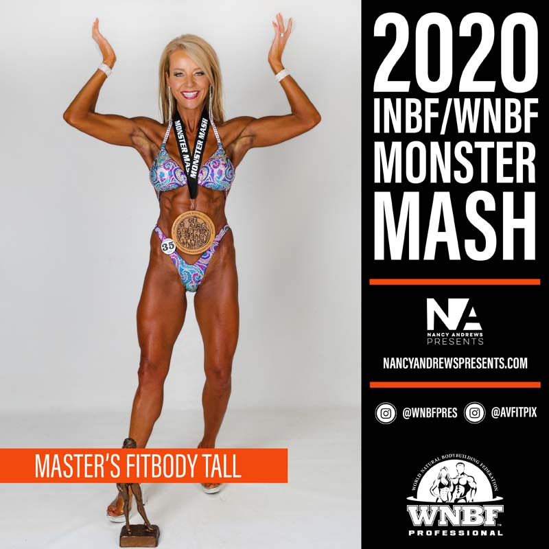 INBF Monster Mash 2020 - Masters Fitbody Tall