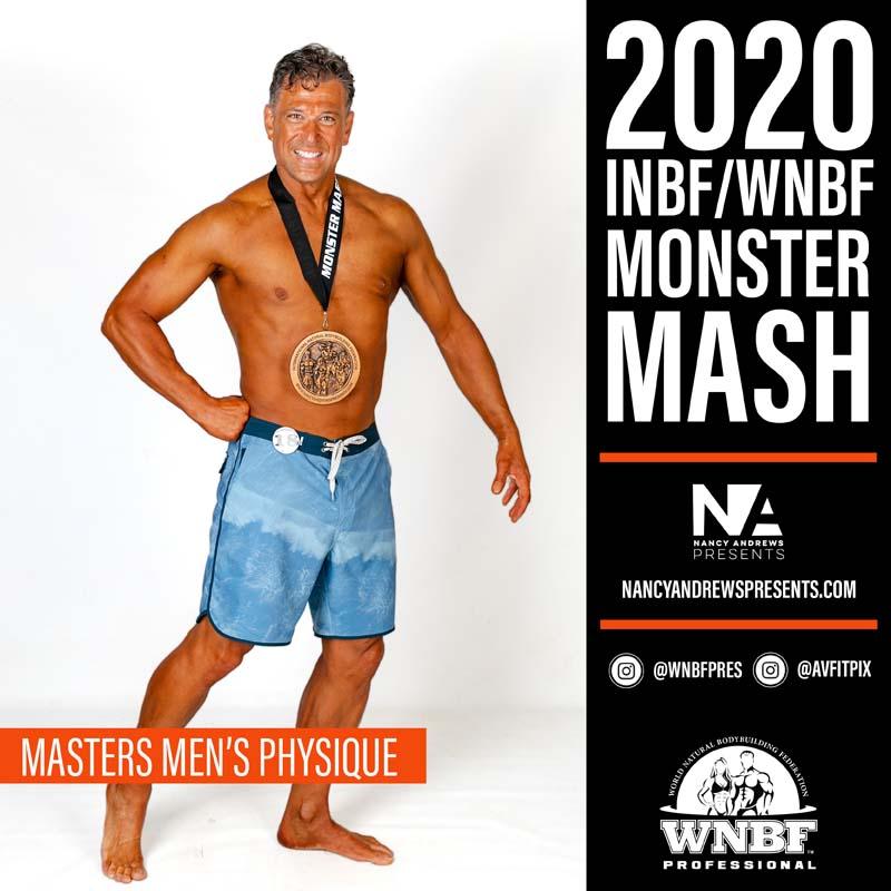 INBF Monster Mash 2020 - Masters Mens Physique