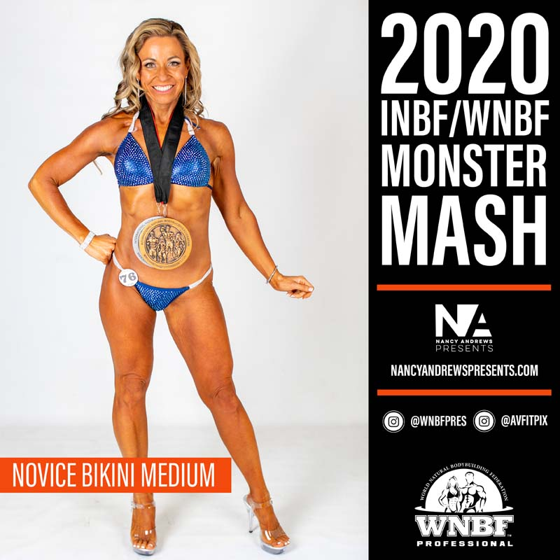 INBF Monster Mash 2020 - Novice Bikini Medium