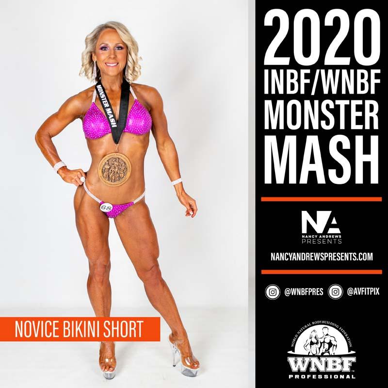 INBF Monster Mash 2020 - Novice Bikini Short