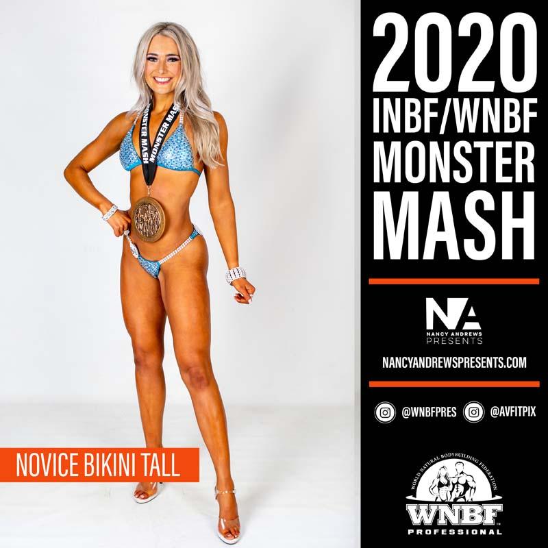 INBF Monster Mash 2020 - Novice Bikini Tall