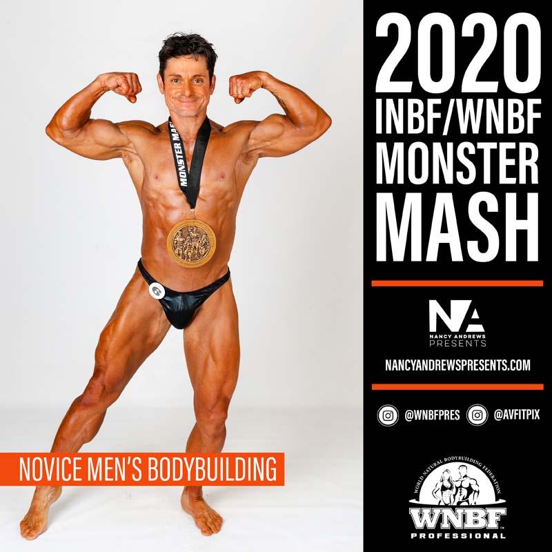INBF Monster Mash 2020 - Novice Mens Bodybuilding