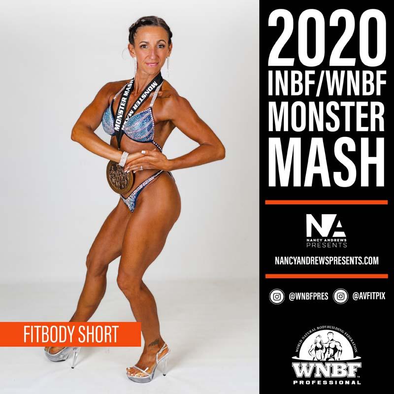 INBF Monster Mash 2020 - Open Fitbody Short