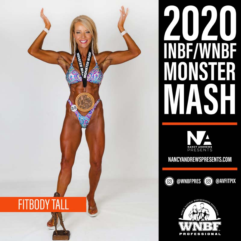 INBF Monster Mash 2020 - Open Fitbody Tall