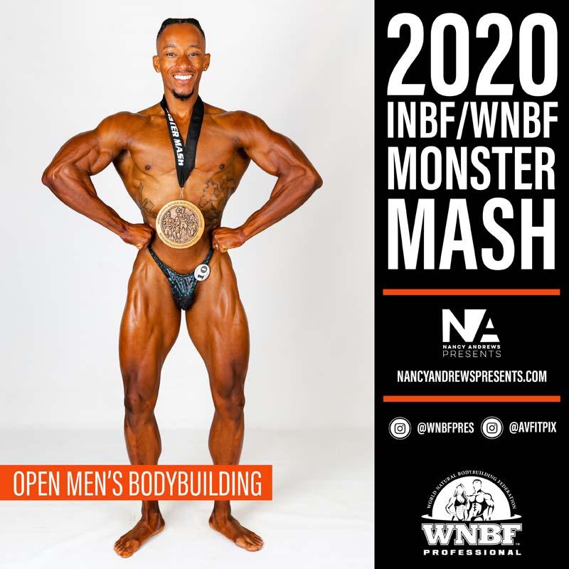 INBF Monster Mash 2020 - Open Mens Bodybuilding