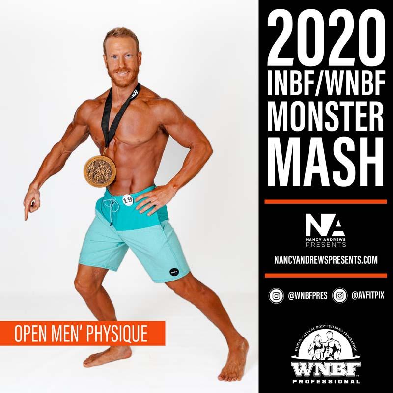 INBF Monster Mash 2020 - Open Physique