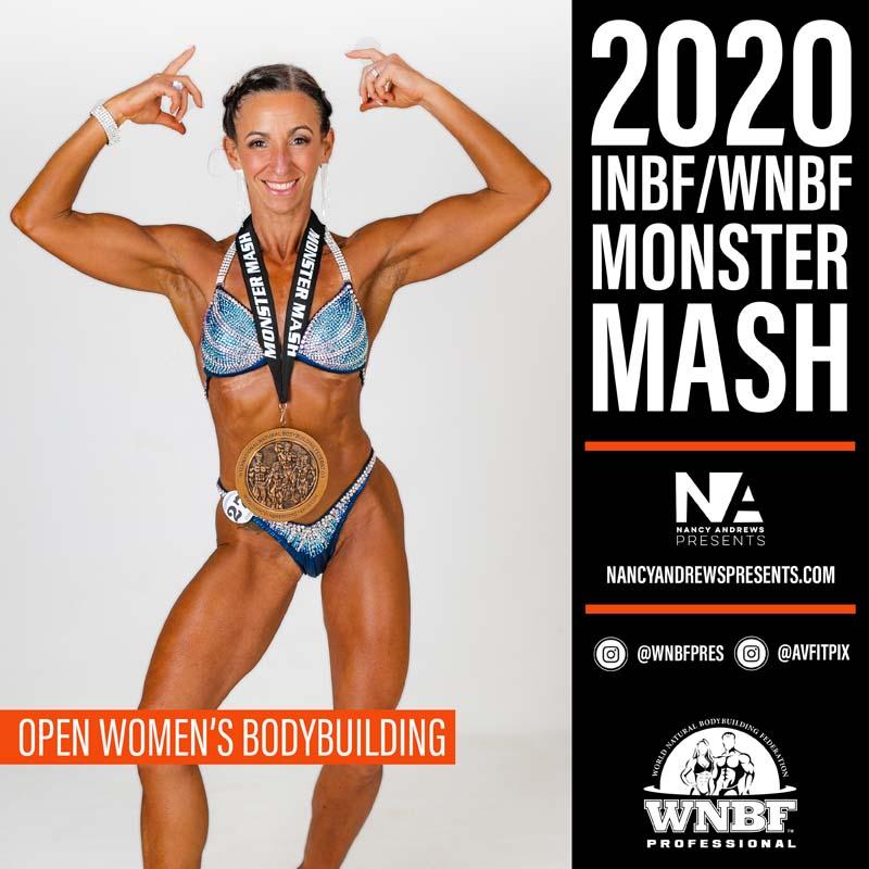 INBF Monster Mash 2020 - Open Womens Bodybuilding2