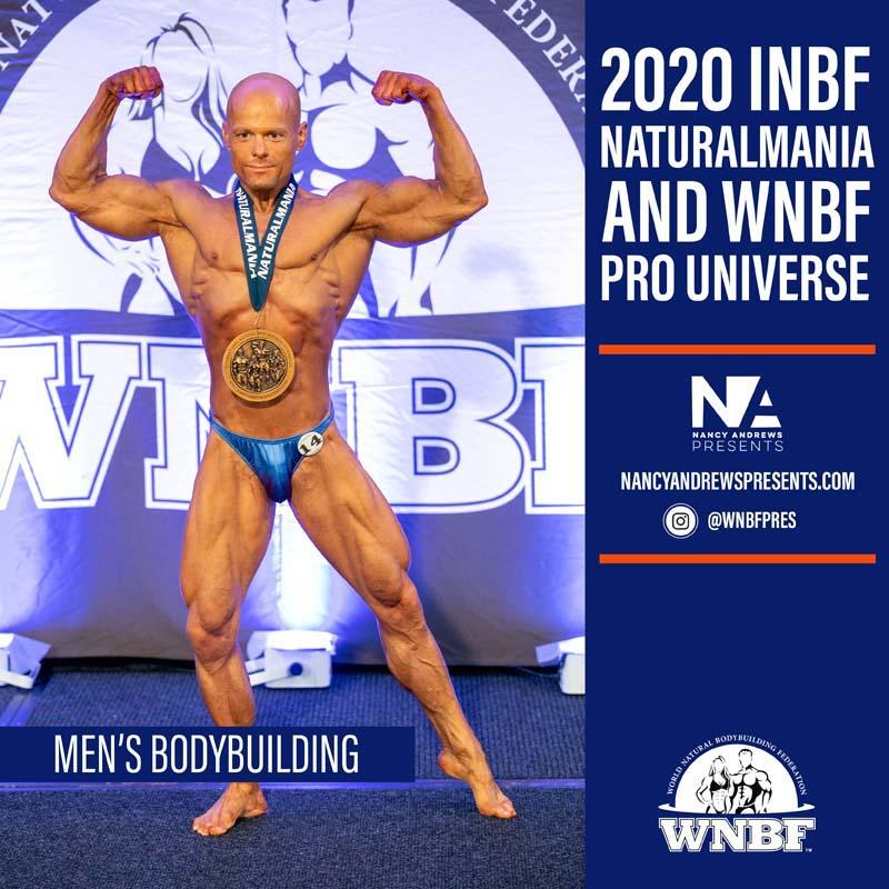 Mens 2020 INBF Naturalmania Bodybuilding
