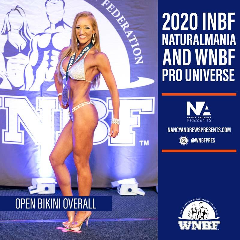 Open Bikini 2020 INBF Naturalmania Overall