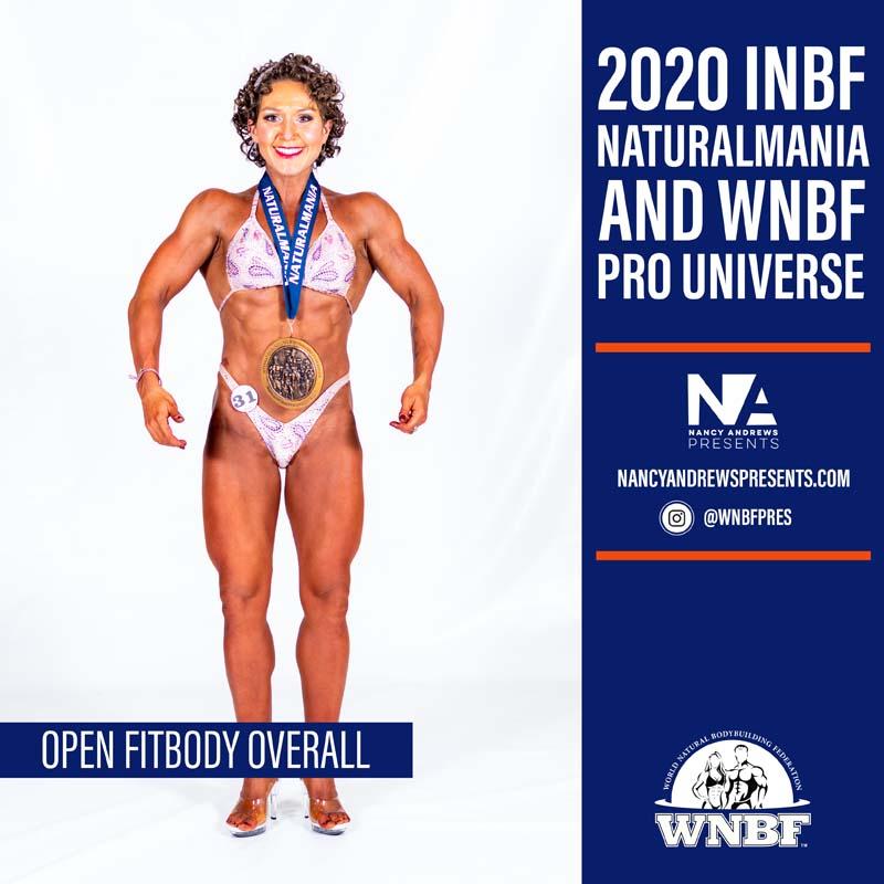 Open Fitbody 2020 INBF Naturalmania Overall
