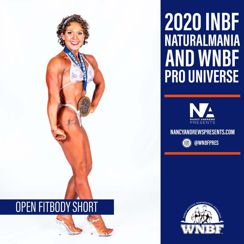 Open Fitbody 2020 INBF Naturalmania Short