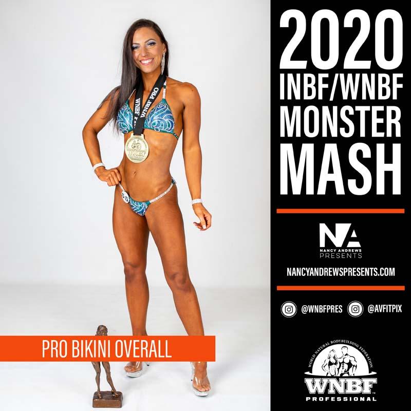 WNBF Monster Mash 2020 - Pro Bikini Overall