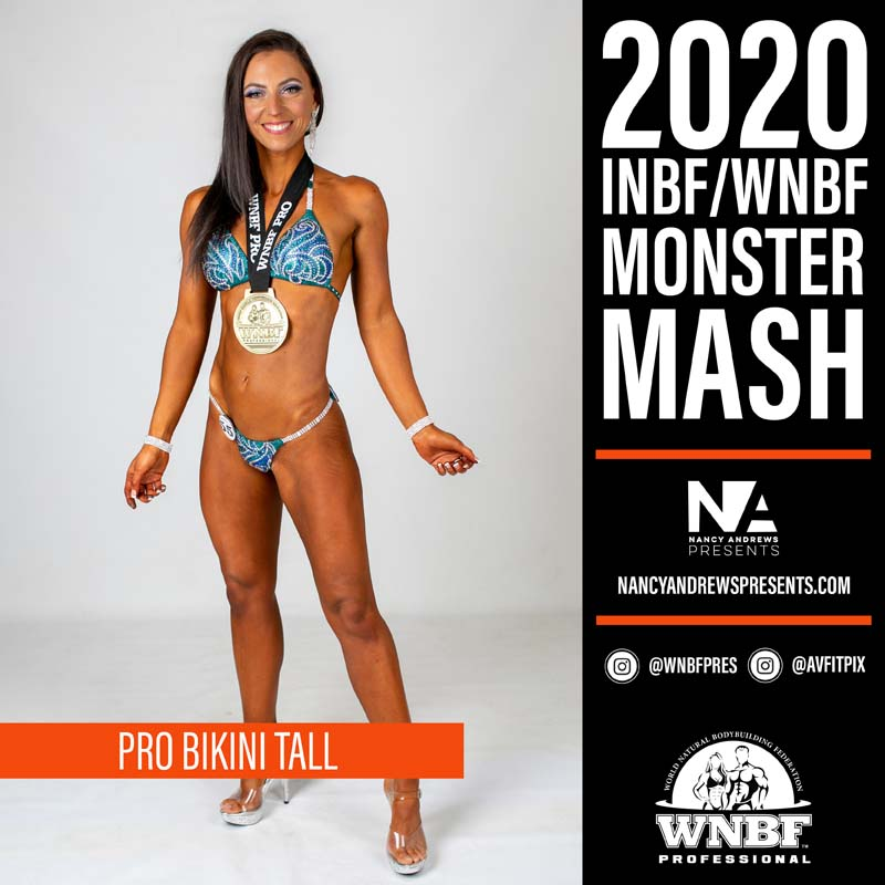 WNBF Monster Mash 2020 - Pro Bikini Tall c3