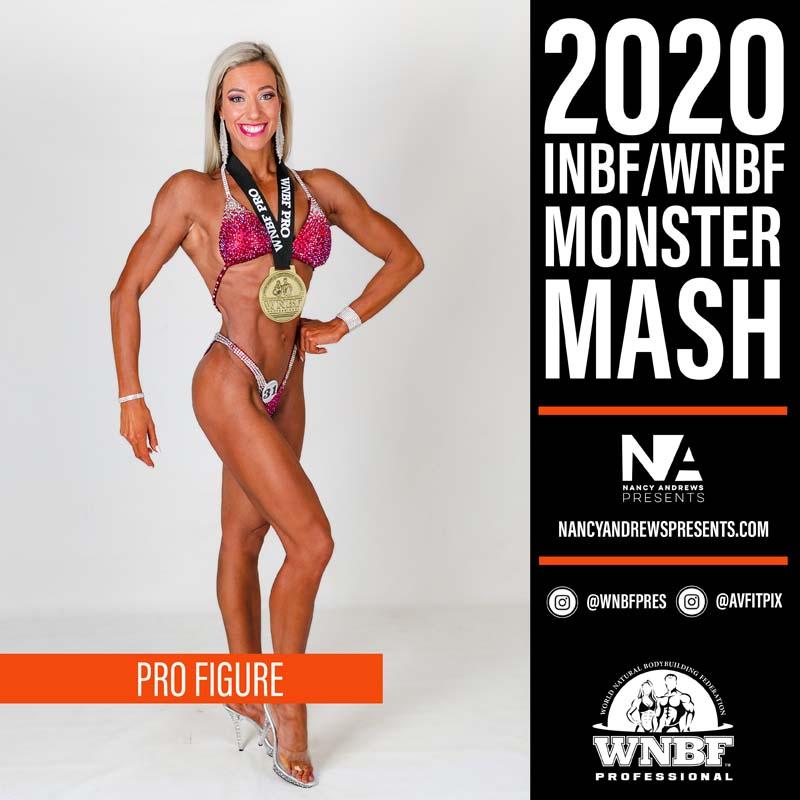 WNBF Monster Mash 2020 - Pro Figure c2