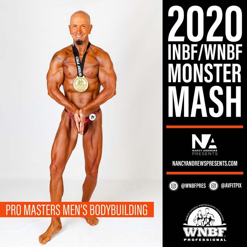 WNBF Monster Mash 2020 - Pro Masters Mens Bodybuilding ProMastersMenBB c1