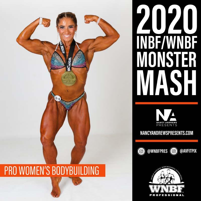 WNBF Monster Mash 2020 - Pro Womens Bodybuilding c2