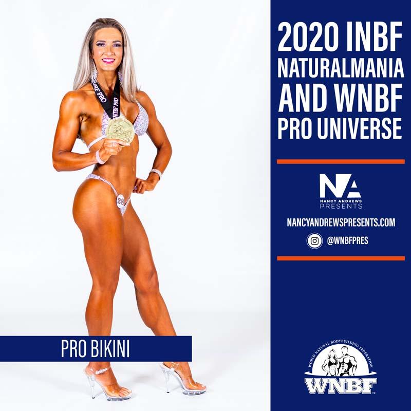 WNBF Pro Universe - Pro Bikini