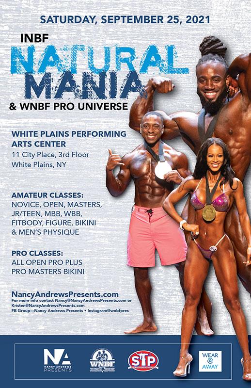 INBF NaturalMania WNBF Pro Universe 2021